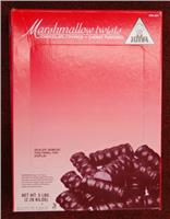 Joyva Cherry Marshmallow Twists, 5 lb Box